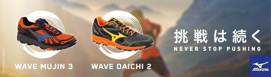 Mizuno Wave Daichi 2 - Wave Mujin 3