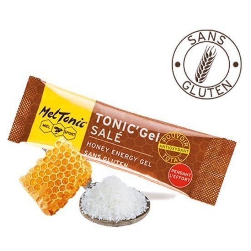 Gel énergétique salé - Miel, fleur de sel & gelée royale