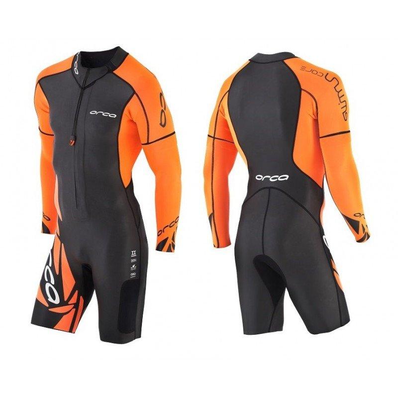 combinaison de triathlon en neoprene pour homme orca core swimrun