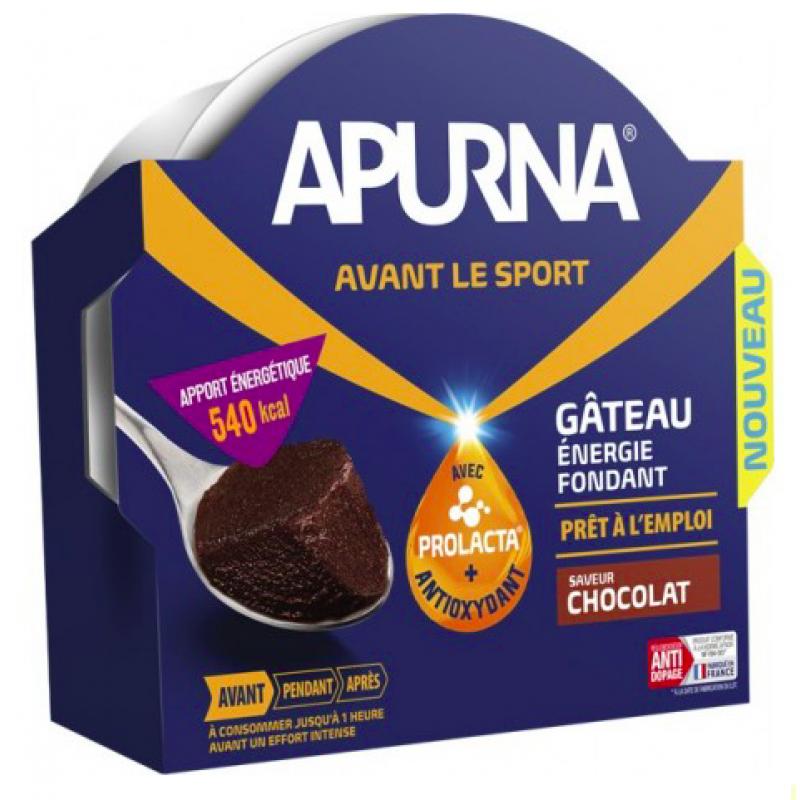 Apurna Gâteau Énergie fondant prêt à l'emploi Chocolat