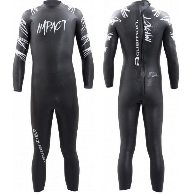 Combinaison de triathlon néoprène Aquaman Impact 2018 Homme