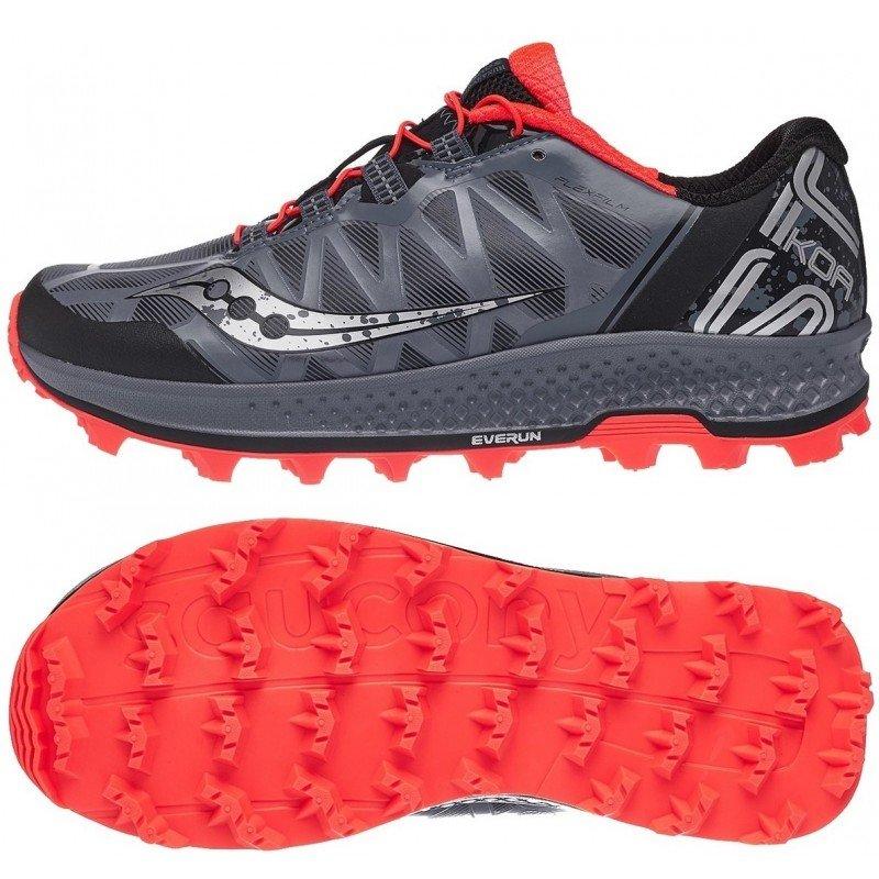 chaussure de trail running pour hommes saucony koa st s20391-35