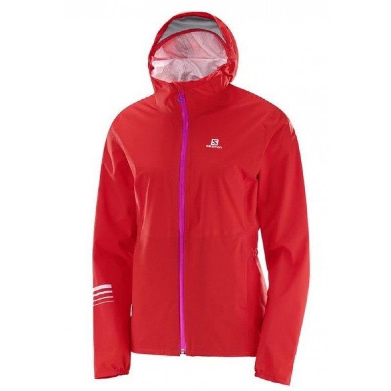 SALOMON Jacket LIGHTNING WP JKT W Flame Scarlet L39270700