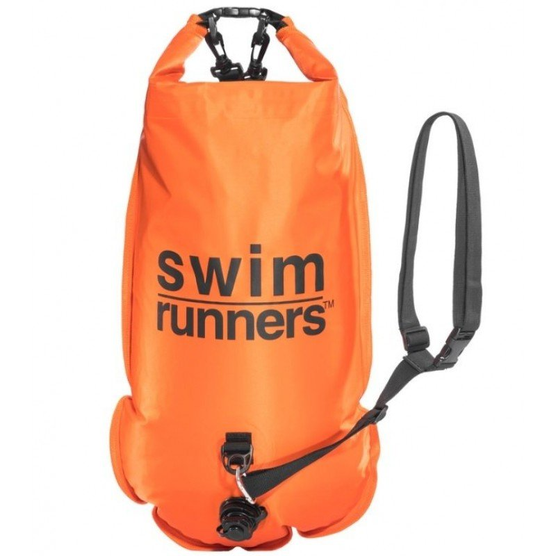 Swimrunners safety buoy bag