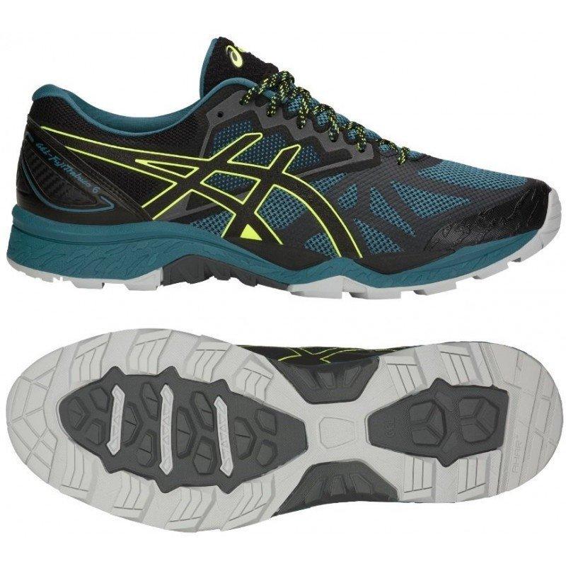 chaussure de trail running asics gel fuji trabuco 6 homme