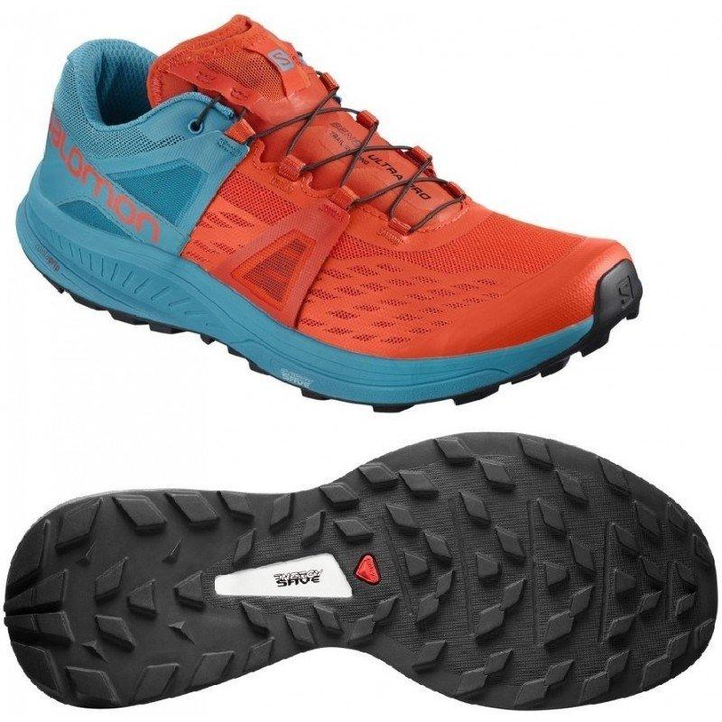 chaussures de trail running pour hommes salomon ultra pro 404921