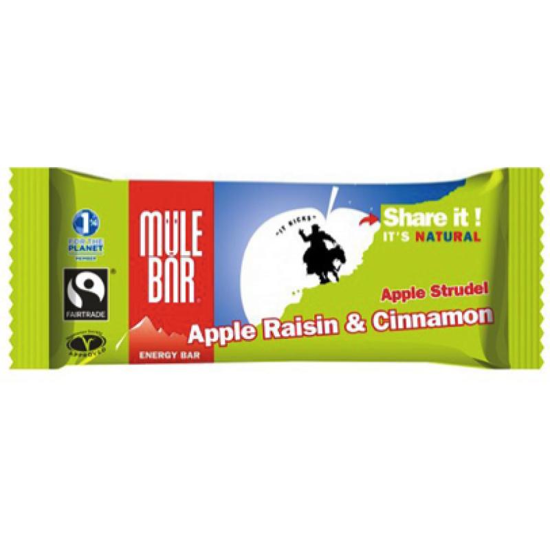 MuleBar Barre énergétique Pomme Strudel