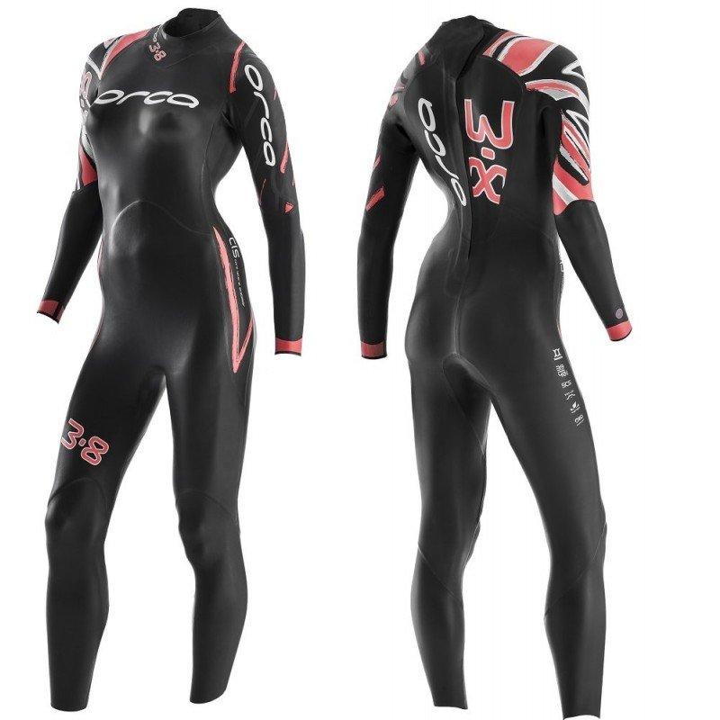 Combinaison de triathlon néoprène Orca 3.8 Enduro Femme