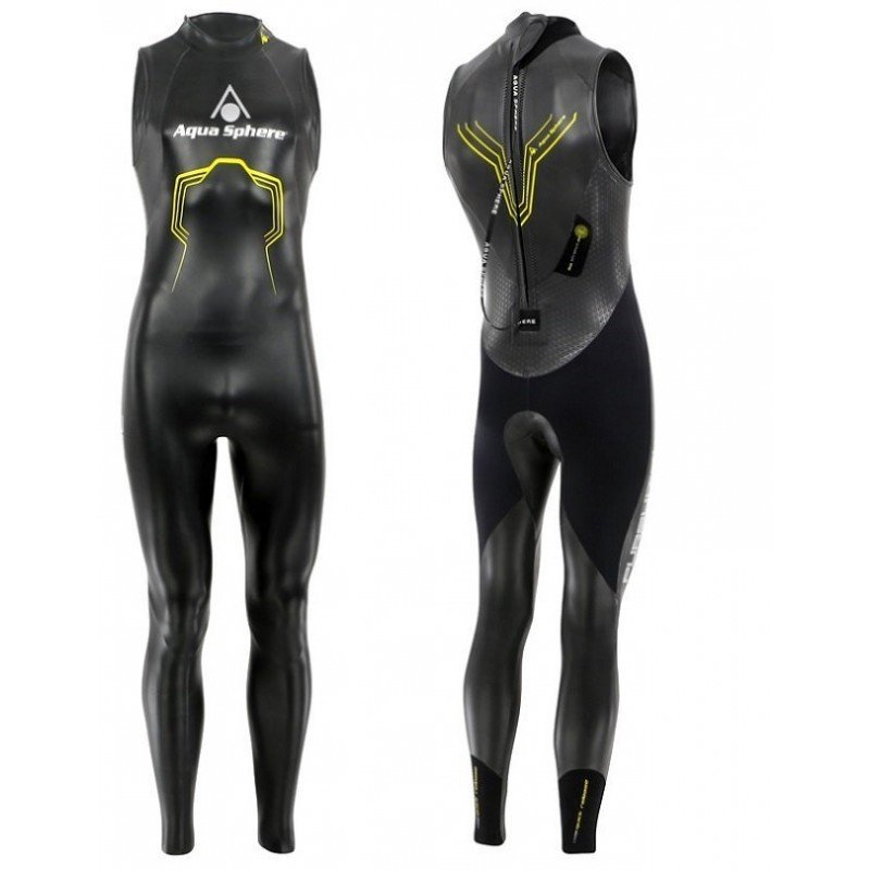 Combinaison de Triathlon Aquashere Pursuit sans manches Homme
