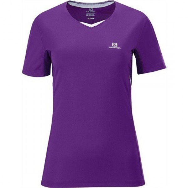W SALOMON TEE SHIRT TRAIL RUNNING