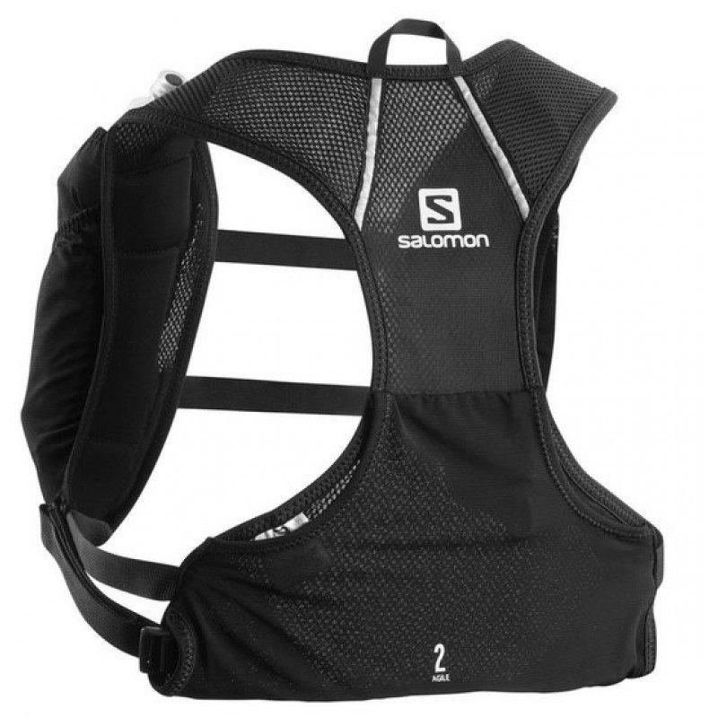 sac de trail salomon agile 2 set black l401543