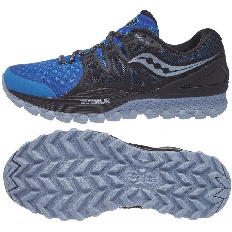 chaussures de trail running pour hommes saucony xodus iso 2 s20387-5