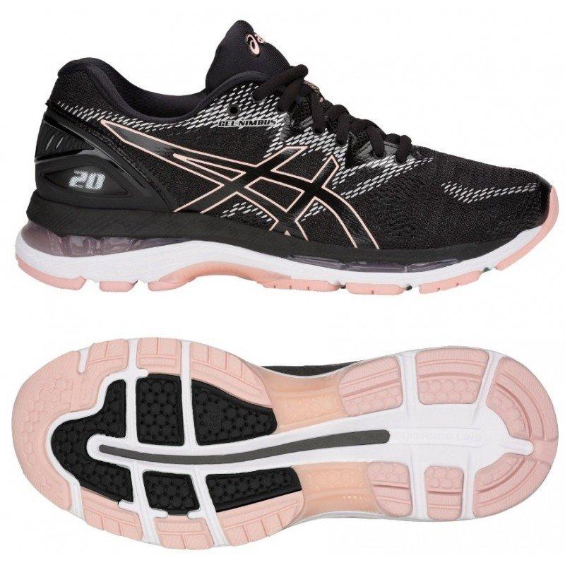 chausure de running pour femmes asics gel nimbus 20 t850n 001