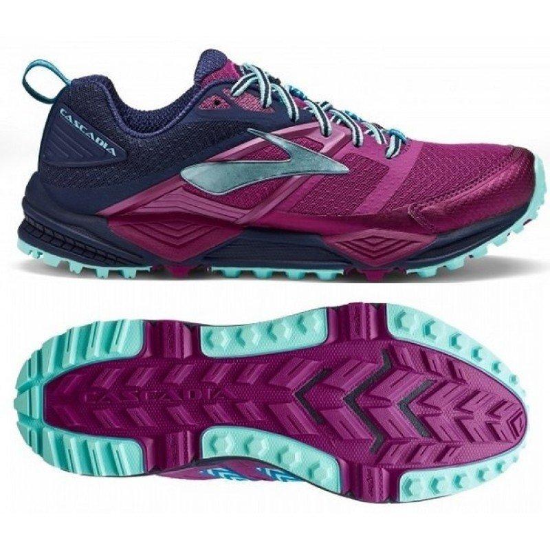 chaussure de trail running pour femme brooks cascadia 12 1202331b533