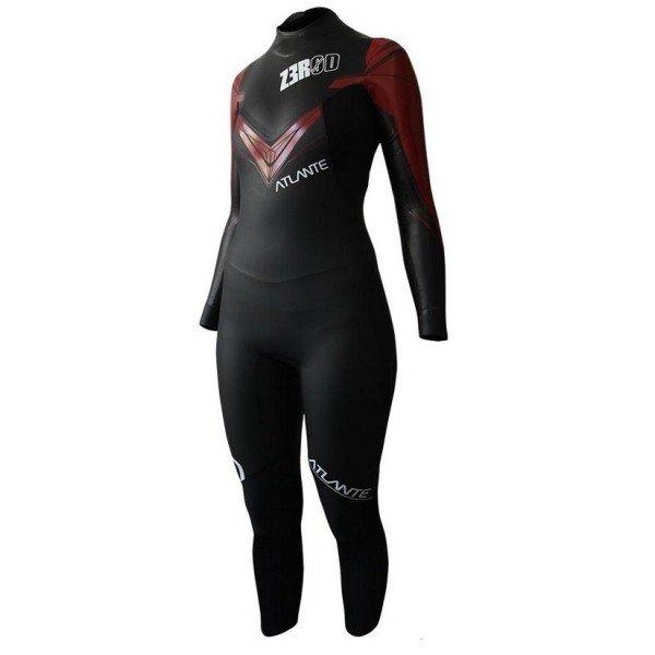combinaison de triathlon en neoprene pour femme zerod atlante