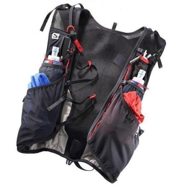 SALOMON Bag ADV SKIN 12 SET Black/Matador L39264000