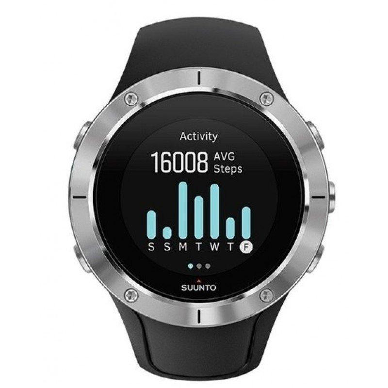 montre gps et cardiofrequencemetre tactile suunto spartan trainer wrist hr steel