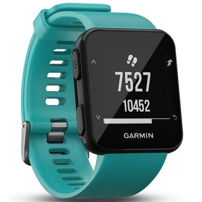 montre de running garmin forerunner 30 avec cardiofrequencemetre integré