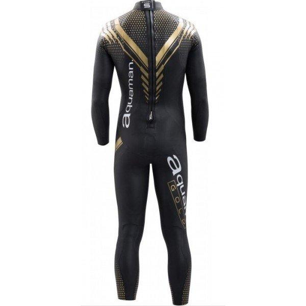 combinaison de triathlon pour hommes aquaman cell gold 2018