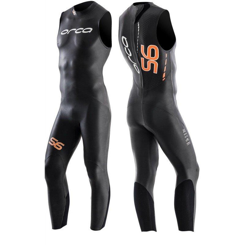 Combinaison de triathlon néoprène Orca S6 Sans Manches Homme