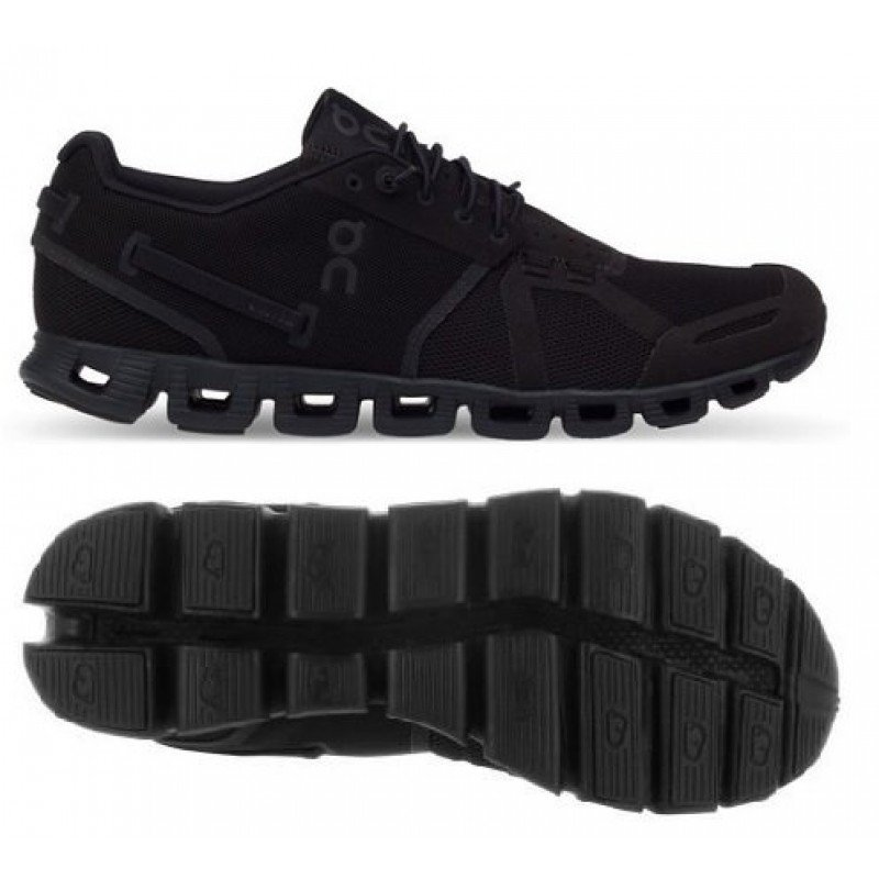 Chaussures de running On Running Cloud Full Black Homme