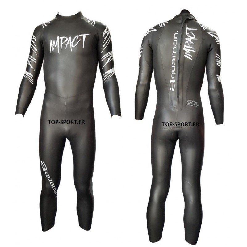 Combinaison de triathlon néoprène Aquaman Impact Femme