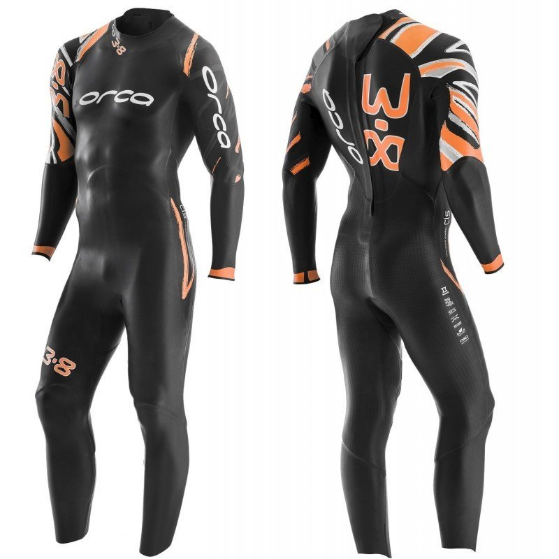 Combinaison de Triathlon néoprène Orca 3.8 Homme
