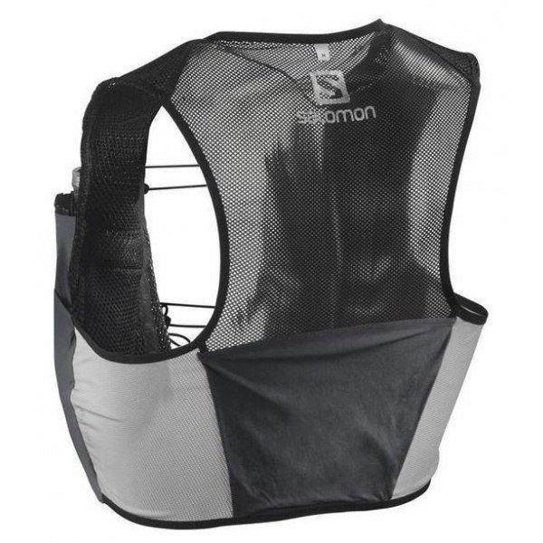 SALOMON Bag S/LAB SENSE 2 SET Black/RACING RED L39381800
