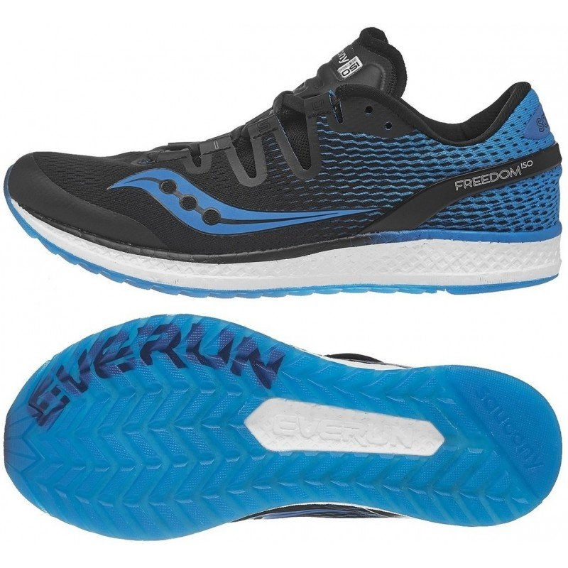 chaussures de running pou hommes saucony freedom iso s20355-7