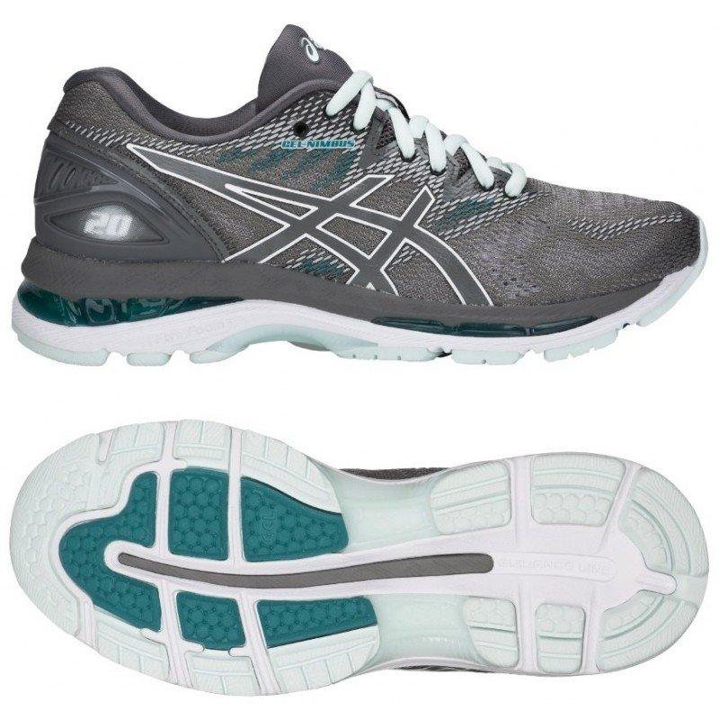 a3793f7bf3a chaussure de running Asics Gel Nimbus 20 femme