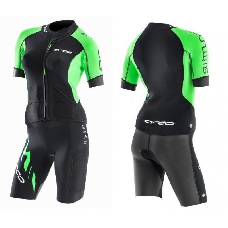 COMBINAISON ORCA CORE SWIMRUN 2 pieces Femme