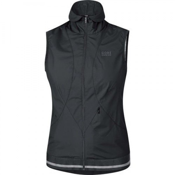 W GORE GILET NOIR AIR 2.0 WINDSTOPPER