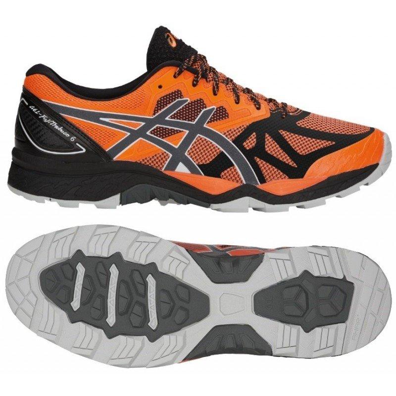 chaussures de trail running asics gel fujitrabuco 6 homme