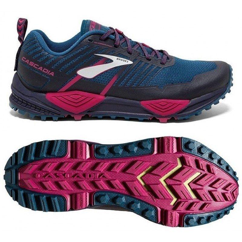 chaussure de trail running pour femme brooks cascadia 13 1202741b449