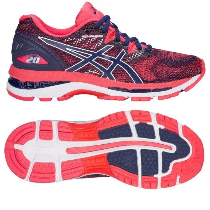 chaussure de running Asics Gel Nimbus 20 femme