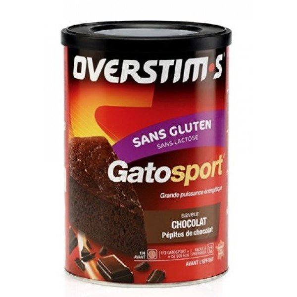 OVERSTIM'S GATOSPORT SANS GLUTEN CHOCOLAT