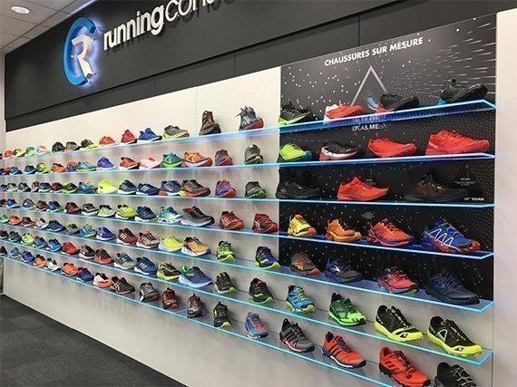 Linéaire chaussure Top sport Running Conseil Cernay