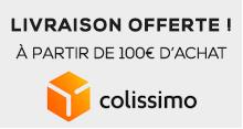 Livraison offerte à partir de 100€ d'achat
