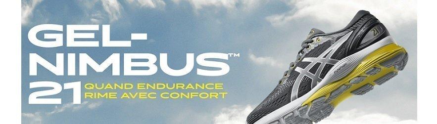 Chaussure De Pour Nimbus Gel Hommes 21 Running Asics wErWd7wq