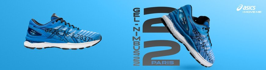 Asics Gel-Nimbus 22 - Marathon de Paris