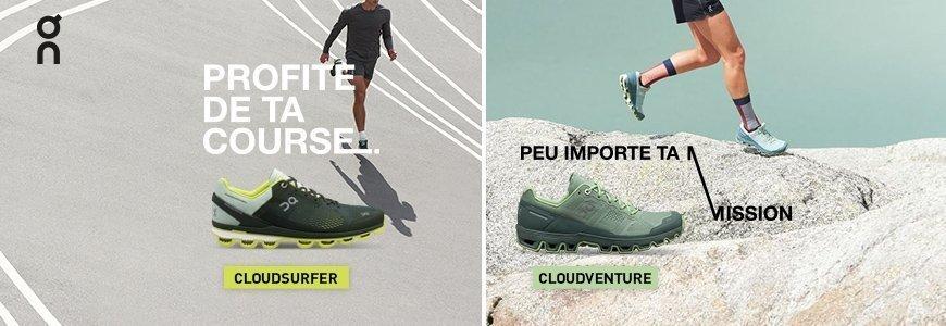On Running Cloudsurfer et Cloudventure