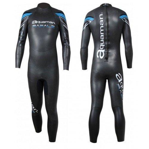 Combinaison de triathlon néoprène Aquaman Rafale Homme
