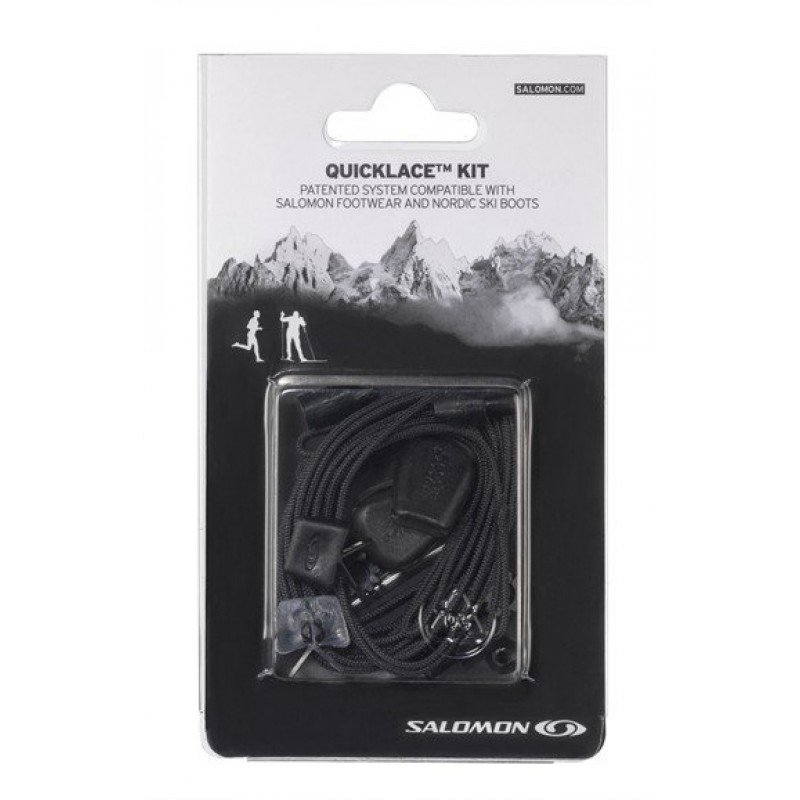 SALOMON KIT LACETS DE RECHANGES NOIR