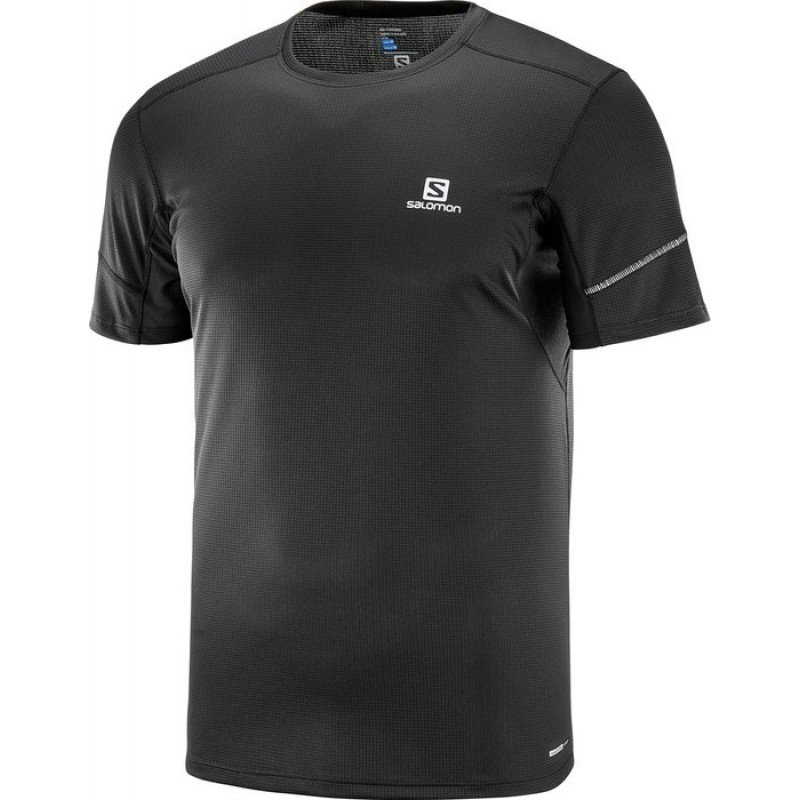 tee shirt de running pour hommes salomon agile ss tee 402099