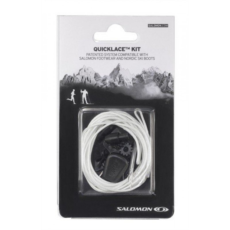 SALOMON KIT LACETS DE RECHANGES BLANC