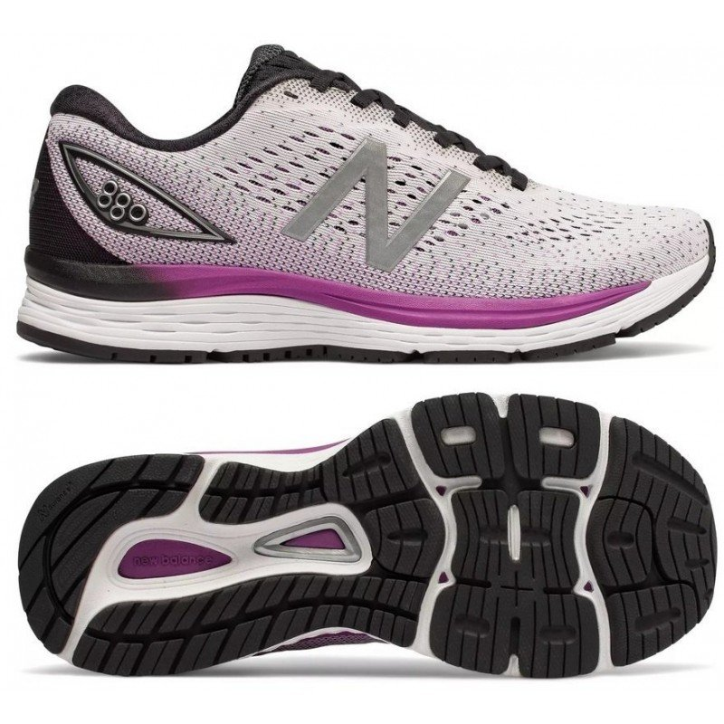 chaussures de running New Balance W 880 V9 femme w880wt9 white/purple