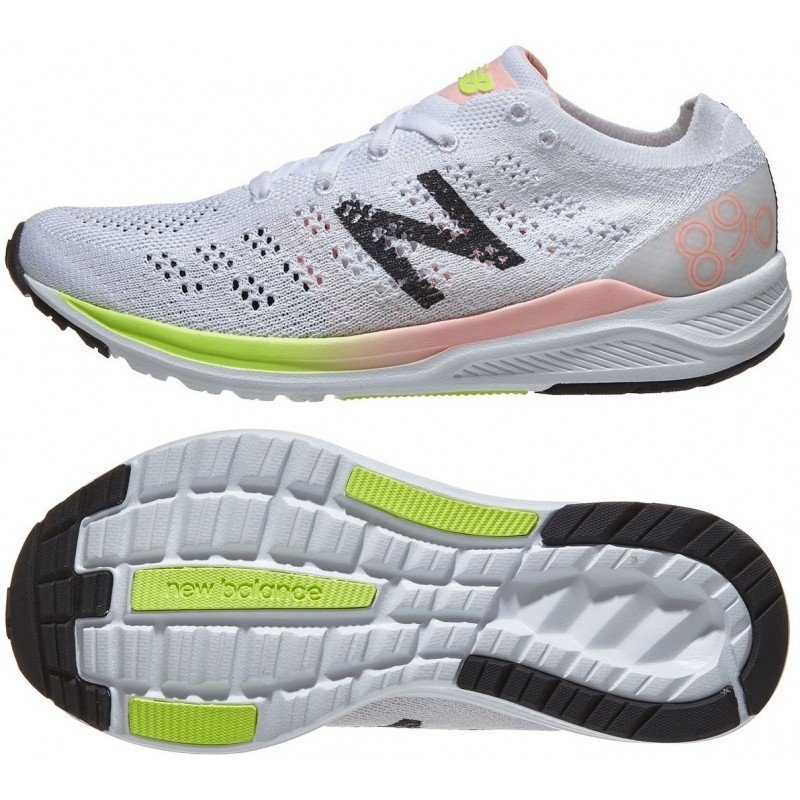 chaussures de running pour femmes w new balance w890 v7 wo7 white