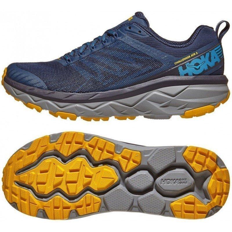 chaussures de running route et chemin pour hommes hoka challenger atr 5 1104093 moog