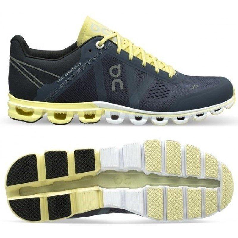 chaussure de running pour femme on running cloudflow 15.99962 smoke / limelight