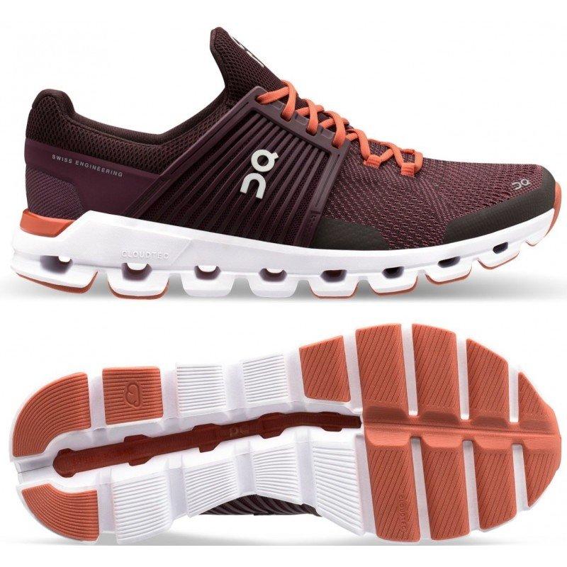 chaussures de running pour femmes on running cloudswift 31.99940 plum & dawn